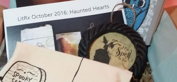 LitRx Subscription Box Review – November 2016