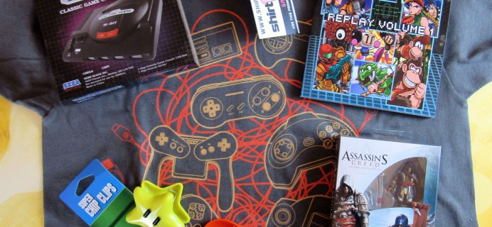 Arcade Block September 2016 Subscription Box Review & Coupon