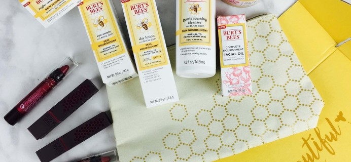 Burt's Bees Limited Edition Burt's Box Review – Winter 2016