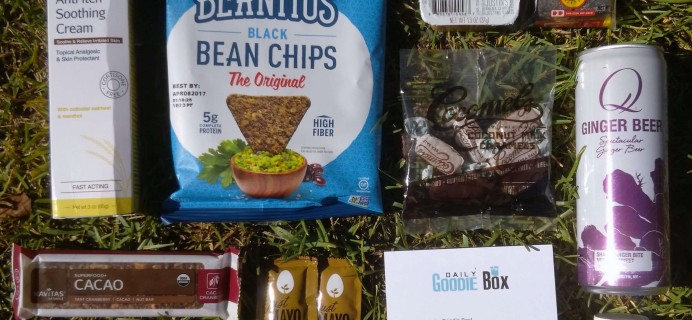 Daily Goodie Box Review – October 2016