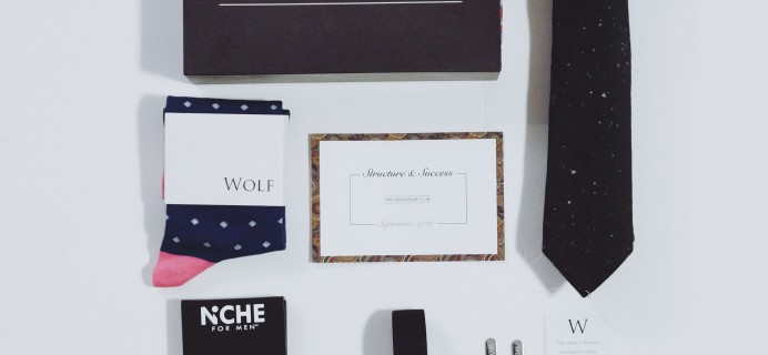 The Menswear Club September 2016 Subscription Box Review + Coupon