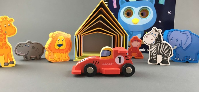 Hoot for Kids October 2016 Subscription Box Review