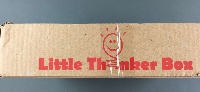 September 2016 Little Thinker Box Subscription Box Review