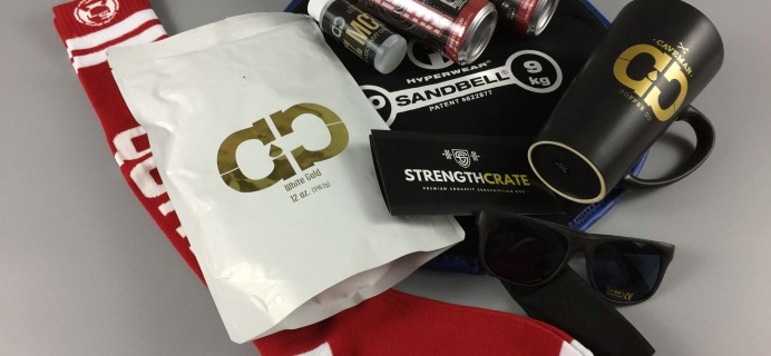 Strength Crate Subscription Box Review + Coupon – October 2016