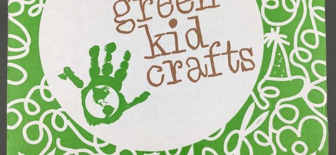 Green Kid Crafts October 2016 Safari Science Subscription Box Review + Coupon