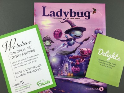 Ladybug Magazine October 2016 Subscription Review