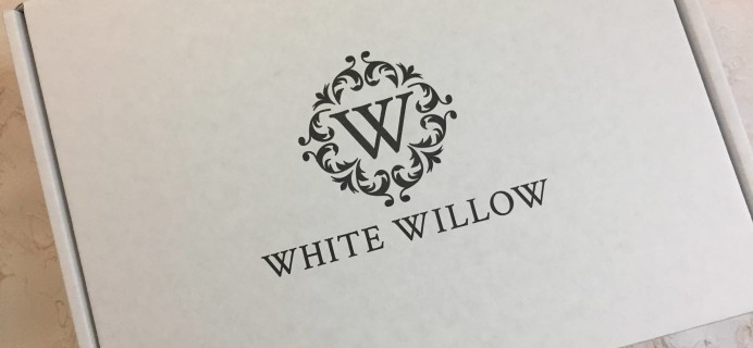 White Willow Box October 2016 Subscription Box Review
