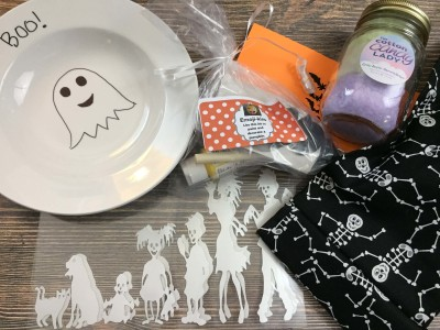 Whimsy Mail & Putter Pails October 2016 Subscription Box Review & Coupon