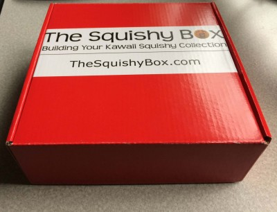 The Squishy Box October 2016 Subscription Box Review