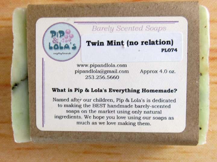 Twin Mint Soap