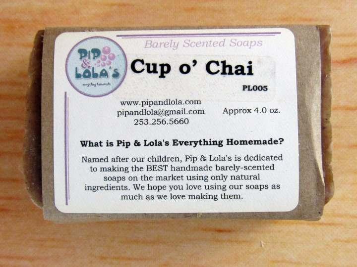 Cup o' Chai Soap