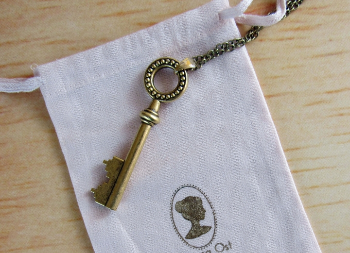 Key Necklace by Ariana Ost