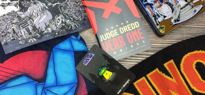 Sci-Fi Block October 2016 Subscription Box Review + Coupon