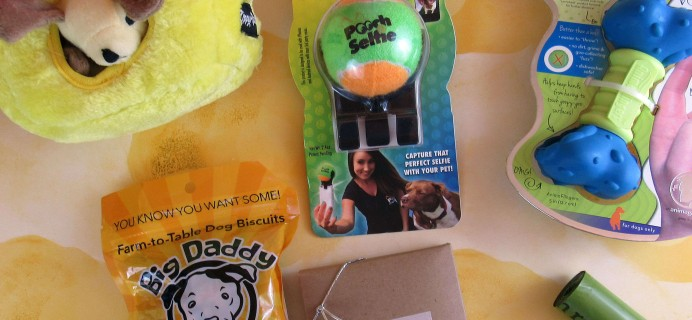 Surprise Pawty September 2016 Subscription Box Review + Coupon
