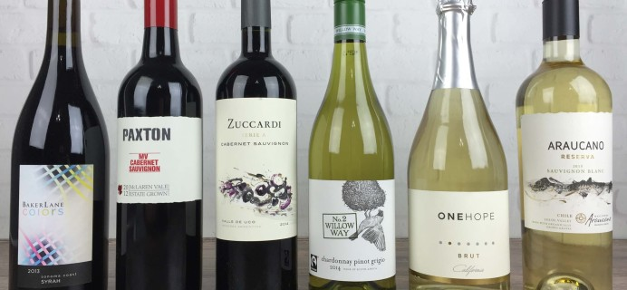 Wine Awesomeness October 2016 Review &  Coupon