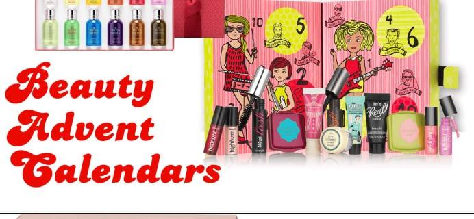 Best Beauty Advent Calendars 2018!