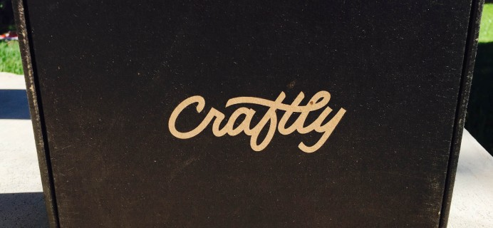 Craftly October 2016 Subscription Box Review