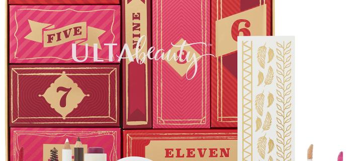 Ulta 12 Days of Beauty Advent Calendar Available Now!