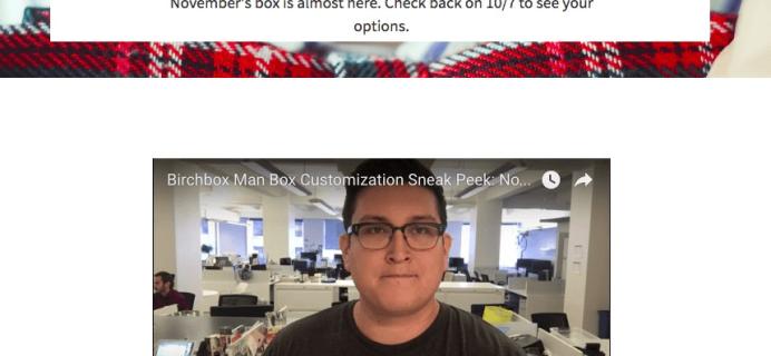 November 2016 Birchbox Man Spoilers & Coupon – Sample Choice, Power Play Items