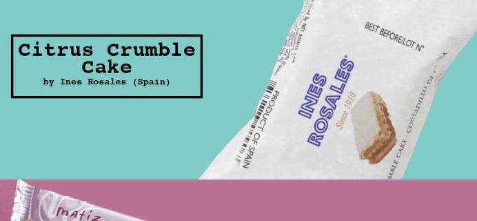 Yummy Bazaar October 2016 Sampler Box Spoilers!