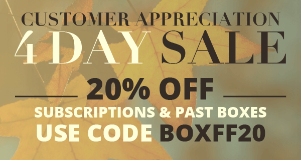 Cocotique Sale – 20% off all Subscriptions