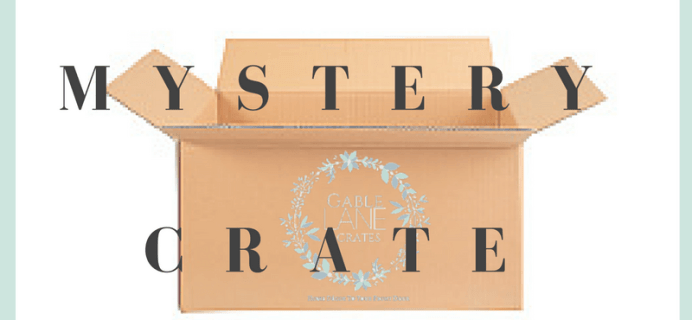 Gable Lane Crates Mystery Crates Available Now!