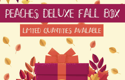 Peaches & Petals Deluxe Fall Mystery Box Now Available