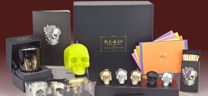 DL & Co Limited Edition Memento Mori Skull Gift Box Available Now!