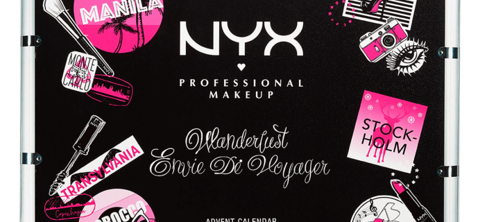 NYX Beauty Advent Calendar Available Now!