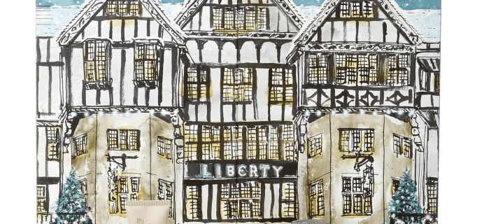 Liberty Beauty Advent Calendar Available Now!