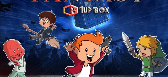 1Up Box November 2016 Spoilers + Coupon!