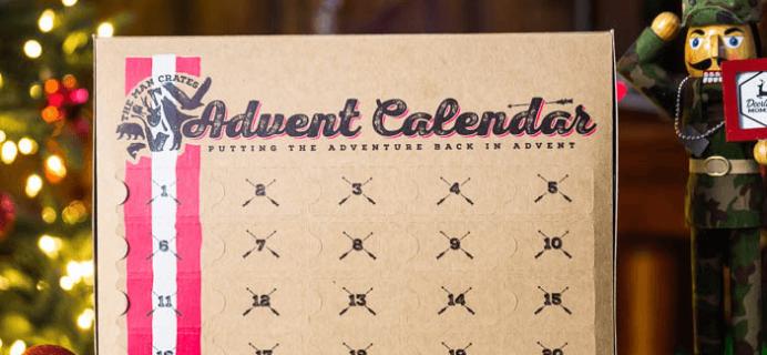 Man Crates Jerky Advent Calendar Available Now!