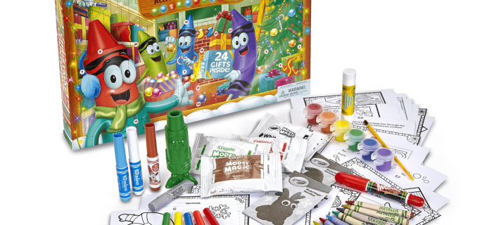 Crayola Christmas Countdown Activity Advent Calendar30% Off TODAY ONLY!