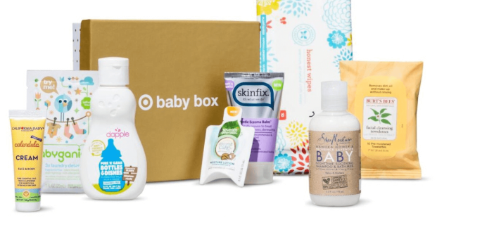 Target Baby Box Available Now!