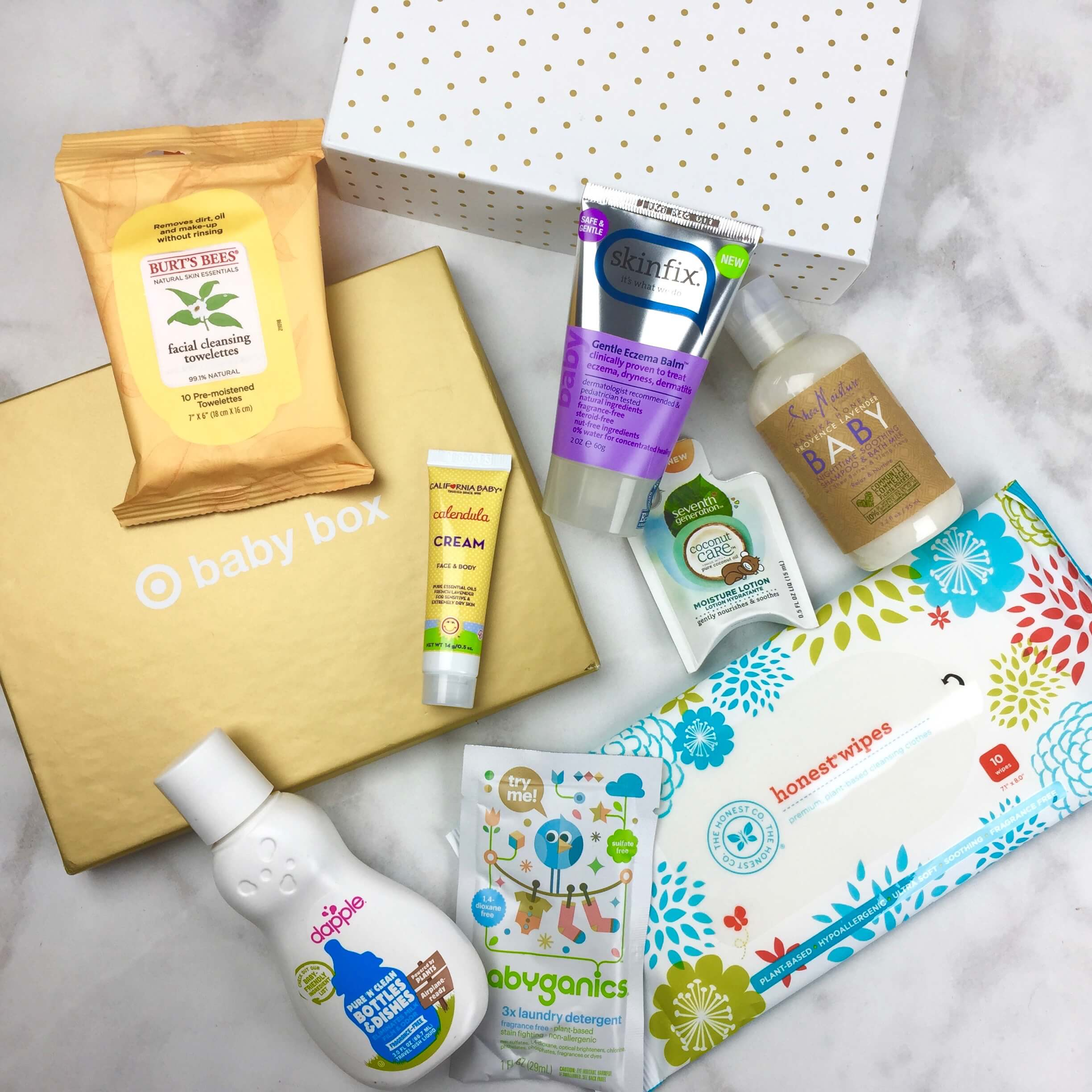 Target Baby Box Review October 2016 Hello Subscription