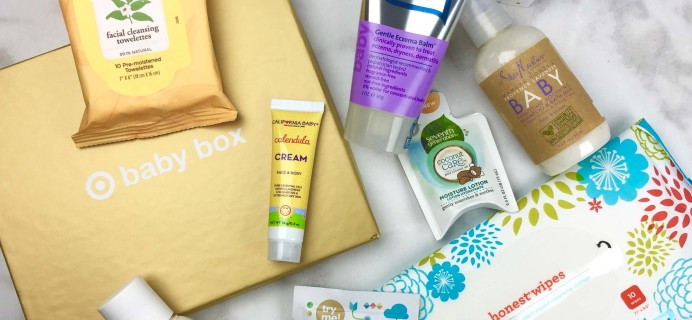Target Baby Box Review – October 2016