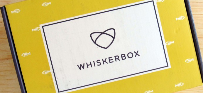 Whiskerbox October 2016 Subscription Box Review + Coupon