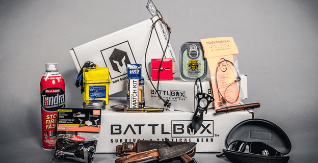 BattlBox Cyber Monday 2017 Subscription Box Deal: Save 40% On All Plans!