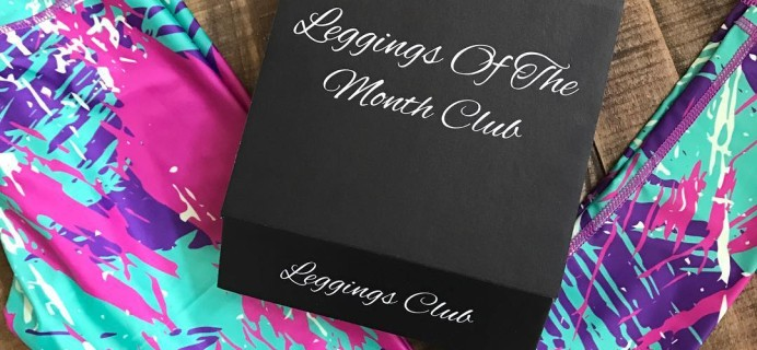 Leggings Of The Month Club Black Friday Coupon! Save 50% on your first box of leggings!