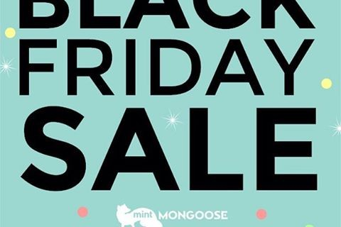 mintMONGOOSE Black Friday + Cyber Monday Deal! 6 Months Free Shipping = $12 For 3 Pieces!