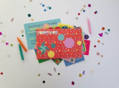 PeelyPack Cyber Monday Kids Sticker Subscription Deal: Save 15% On Subscriptions!!