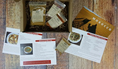 """Spiced Pantry Subscription Box Review + Coupon – """"Morocco"""""""