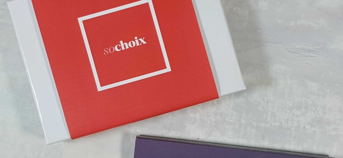 So Choix Sample Subscription Box Review – October 2016