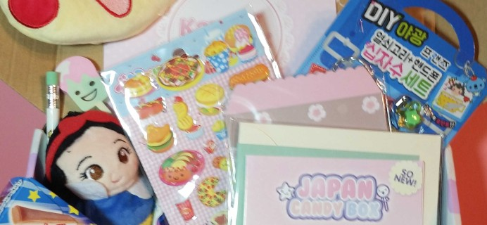 Kawaii Box October 2016 Subscription Box Review