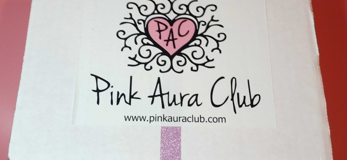 Pink Aura Club Subscription Box Review + Coupon – Welcome Box 2016