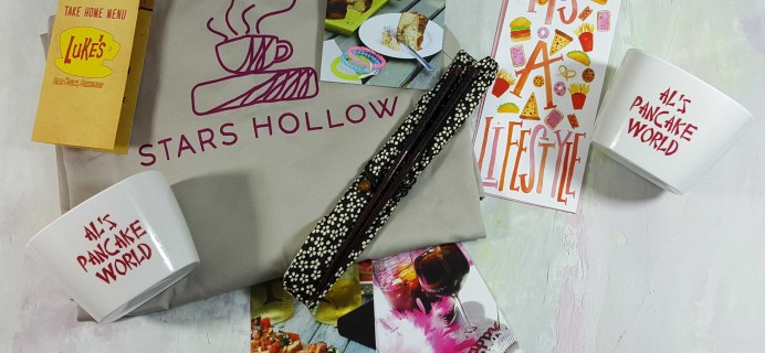 Stars Hollow Monthly Subscription Box Review – October 2016