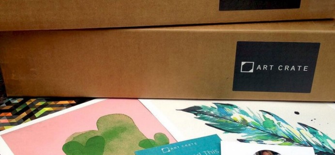 Art Crate Cyber Monday Deal: 25% Off First Box Coupon!