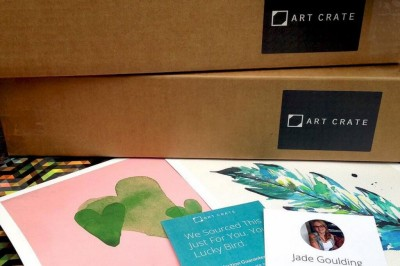 Art Crate Black Friday Deal: 25% Off First Box Coupon!