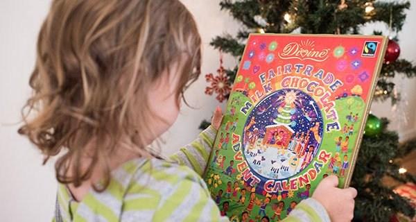 Divine Chocolate Advent Calendar Coupon!