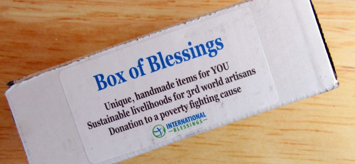 Box of Blessings Subscription Box Review & Coupon – October 2016
